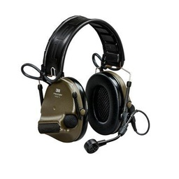 [MT20H682FB-09N GN] 3M Peltor MT20H682FB-09N GN ComTac VI NIB Headband + ARC Headset - Green