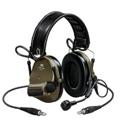 [MT20H682FB-19N GN] 3M Peltor MT20H682FB-19N GN ComTac VI NIB Headset - Green Dual Comm