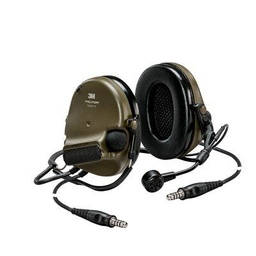 [MT20H682BB-19N GN] 3M Peltor MT20H682BB-19N GN ComTac VI NIB Dual Comm Neckband - Green