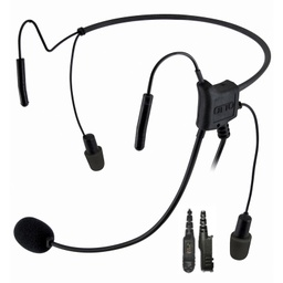 [V4-HN2MR3B] OTTO V4-HN2MR3B Hurricane II 29dB NRR Headset, 2.5mm Pigtail - Motorola XPR 3000e