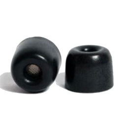 Silynx Black Premium Foam Ear Tips by Comply - 25 Pairs