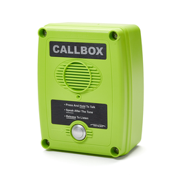 Ritron Q7 Callbox with Built-in Relay, Messages, Inputs - Analog