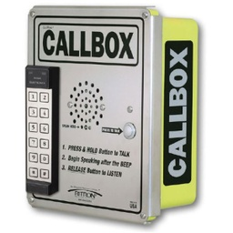 Ritron XT Callbox with Entry Keypad - Analog