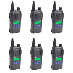 [NT-152M-6] Ritron NT-152M-6 2-Way Radio License-Free MURS Starter Pack Promo